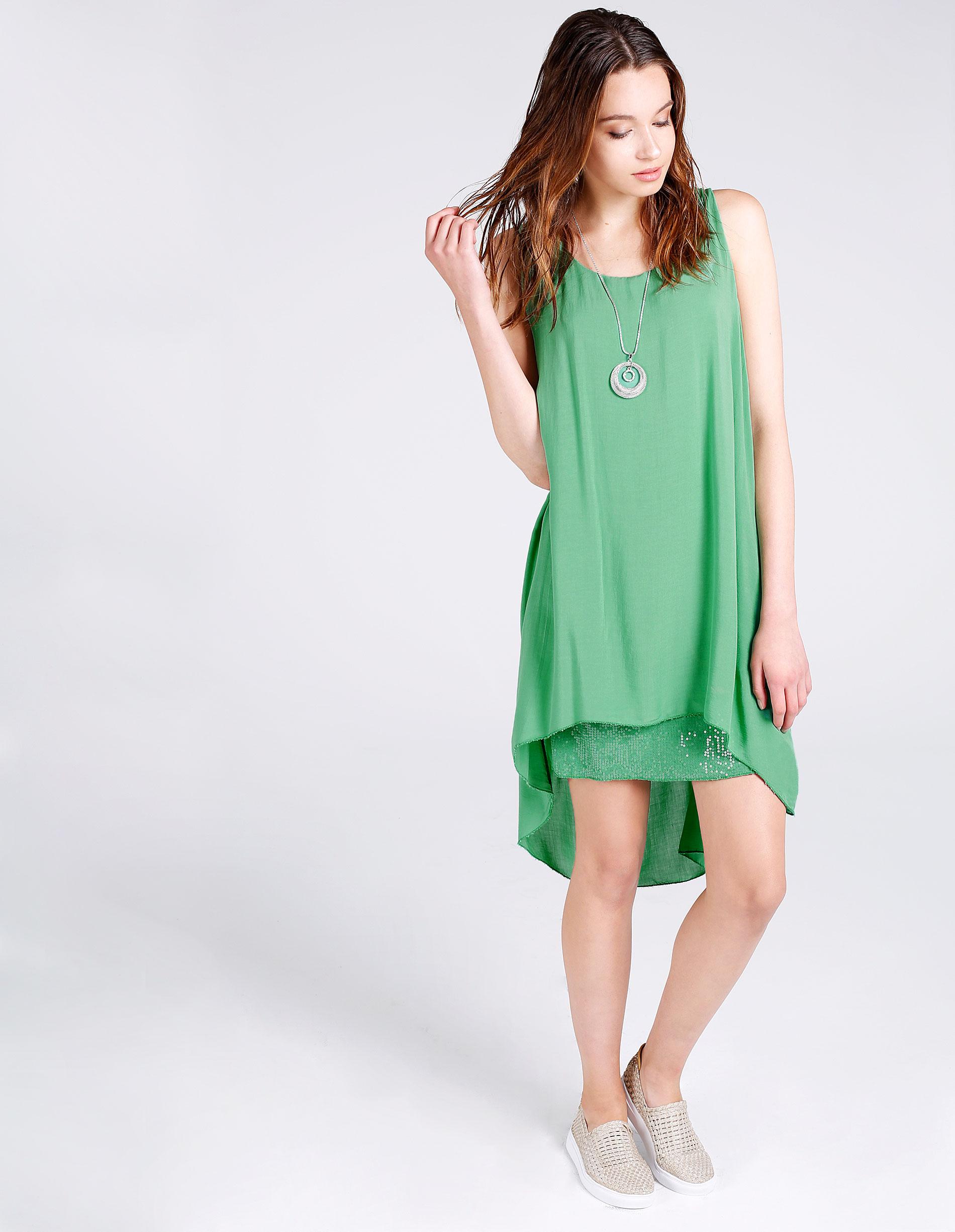 Sukienka - 65-5038LA VEG - Unisono